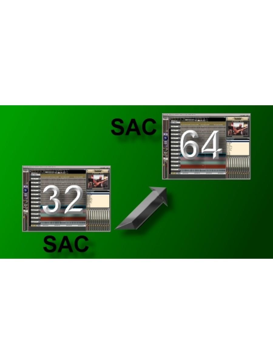 Upgrade SAC32 To SAC64